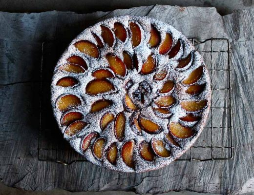 Sophie Zalokar Recipe for Chocolate-Plum-Allspice-Buckwheat-Cake