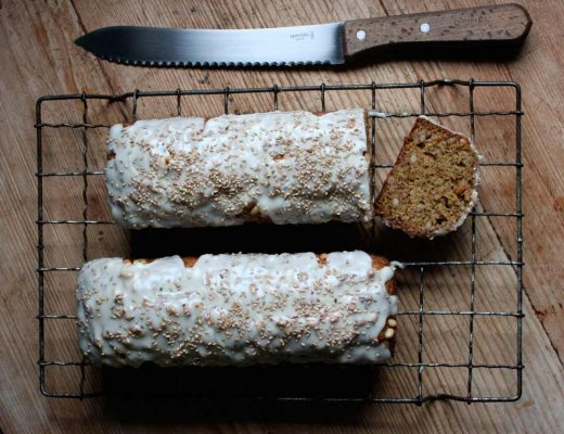 Sophie Zalokar Recipe for Spelt Pine Nut Banana Bread
