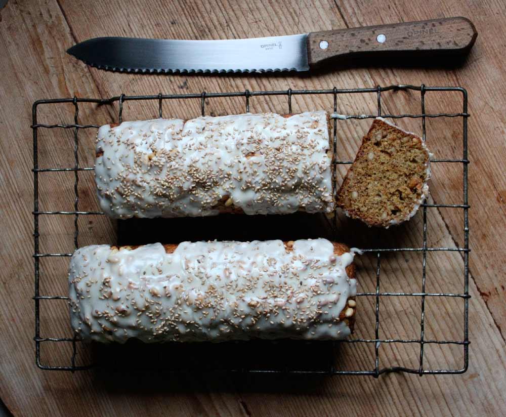 Sophie Zalokar Recipe for Spelt Pine Nut Banana Bread